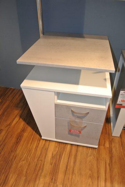 Abverkauf Anstellcontainer mit Platte