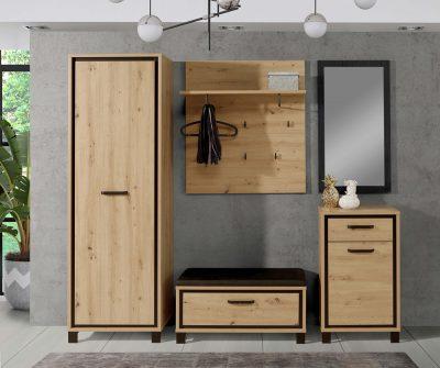 Büromöbel Garderobenkombination